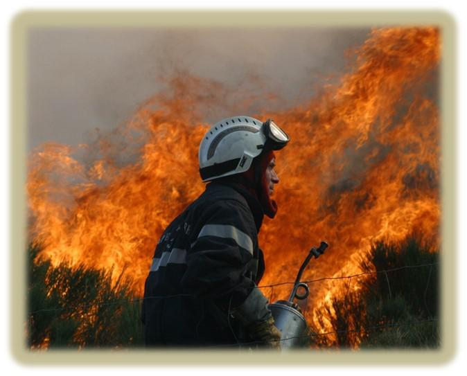 Professional agricultural control burning
